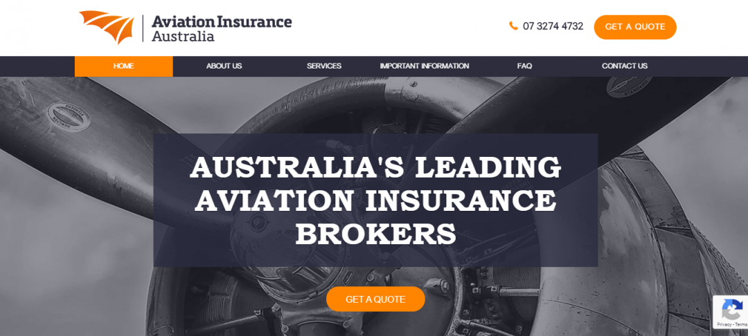 Aviation Insurance New Website & Branding